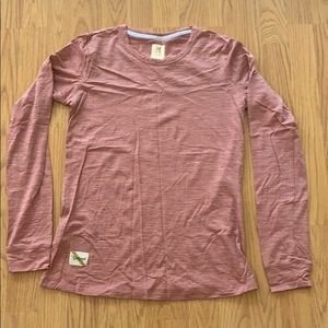 Tracksmith harrier long sleeve top
